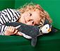 Kuschelkissen »Pinguin« mit Schlafanzugfach