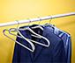 4 Kleiderbügel mit Schulterverstärkung
