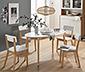 Rozkladací jedálenský stôl, cca 146/190 x 80 cm