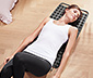 Massagematte mit strukturierter Oberfläche