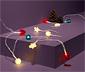 LED-es égősor, 4 féle cserélhető rátéttel