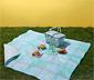 Koc piknikowy XL z paskiem ułatwiającym przenoszenie