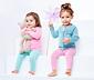 2 kislány leggings szettben