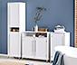 Dwudrzwiowa szafka łazienkowa w kolorze białym