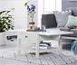 Sofabord med klap og 1 skuffe
