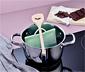 Naczynie do rozpuszczania czekolady w kuchence mikrofalowej lub kąpieli wodnej