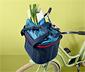 Kormányra helyezhető kerékpáros kosár
