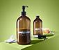 Komplet 2 dozowników do mydła lub szamponu ok. 550 ml i ok. 350 ml