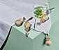 4 Tischdeckenhalter