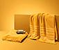 2 Fransen-Handtücher, gelb