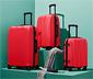 Twarda walizka ok. 85 l, czerwona