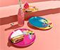 4 assiettes de pique-nique