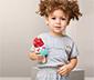 Pebble-Rassel »Eiscreme Happy«