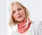 Kırçıllı Şeftali Rengi Dryactive Plus Organik Pamuklu Boyunluk