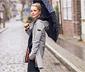 Manteau à capuche en softshell