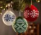 3 Adet Yılbaşı Ağacı Süsü »Küreler«