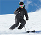 High-Tech Erkek Kayak Pantolonu, Kırçıllı Antrasit