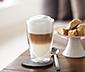 2 latte macchiato-glas