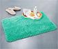 Dywanik łazienkowy z wysokim włosiem 50x80 cm, miętowy