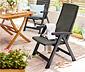 Antrasit Yüksek Bahçe Sandalyesi