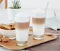 2 Barista-Latte-macchiato-Gläser