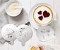 3 darabos cappuccino sablon-készlet