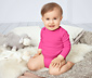 3 Adet Organik Pamuklu Uzun Kollu Bebek Tulumu