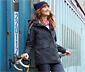 Női funkcionális parka kabát, sötétkék
