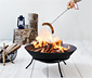 Broche extensible pour barbecue