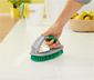 Bodenbürste mit Sprühfunktion