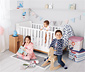 Posteľ pre bábätká a malé deti