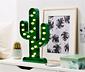LED-es dísz lámpa, kaktusz formájú
