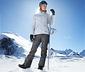 Módne lyžiarske nohavice