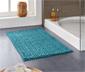Tapis de bain à l'aspect tricoté, env. 80 x 50 cm