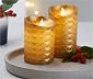 LED'li Mum, Altın Rengi, 2 Adet