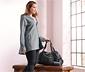 Długa damska rozpinana bluza dresowa z kapturem