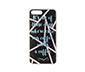 Siyah Neon Yazılı IPhone 7  plus-8 plus Silikon Telefon Kılıfı