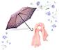 Şemsiye ve Şal Hediye Seti