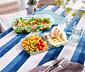 Açık Mavi Servis Ve Salata Kâsesi