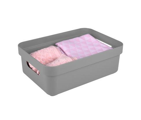 Sunware®-Aufbewahrungsbox »Sigma Home«, 9 l, hellgrau