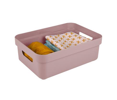 Sunware®-Aufbewahrungsbox »Sigma Home«, 9 l, roséfarben