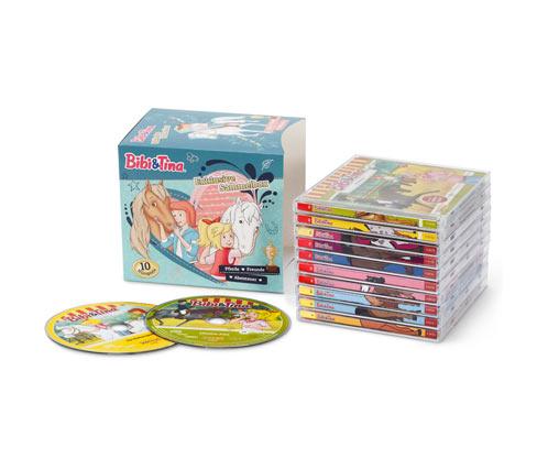 CD-Hörspielbox »Bibi & Tina«