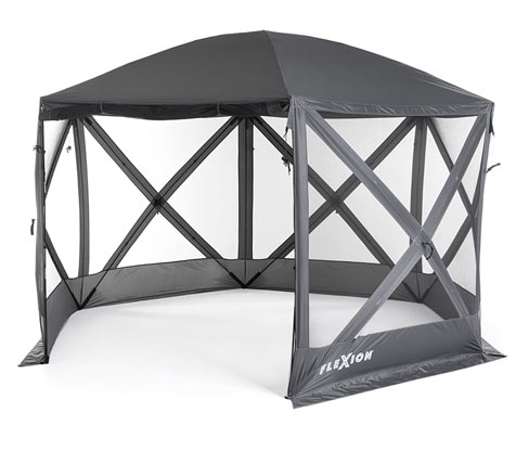 Westmann-Camping-Pavillon »Flexion« - Grau