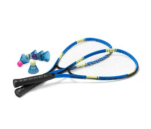 Turbo-Badminton-Set