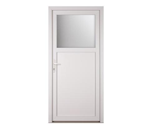KM Meeth Kunststoff-Nebeneingangstür »K301D«, DIN links