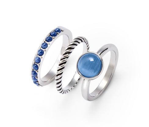 3er-Ring-Set