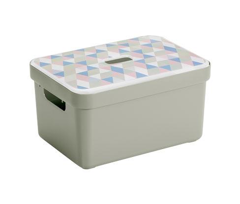Sunware®-Deckel »Sigma Home«, für die 9-l-, 13-l- und 18-l-Aufbewahrungsbox, bedruckt