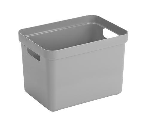 Sunware®-Aufbewahrungsbox »Sigma Home«, 18 l, hellgrau