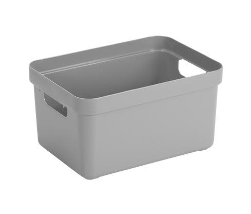 Sunware®-Aufbewahrungsbox »Sigma Home«, 13 l, hellgrau