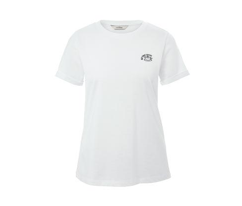 Shirt mit kleiner Statement-Stickerei